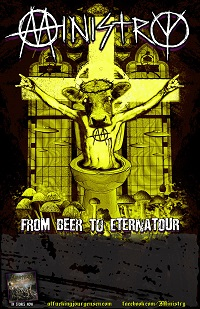 MINISTRY FBTE Tour poster